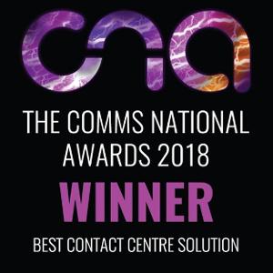 Comms National Awards 2018 Winner